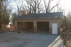 Garage Addition in Lampe, MO